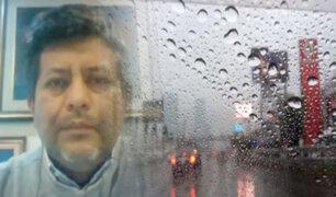 Lima amaneció con lluvia y alta humedad