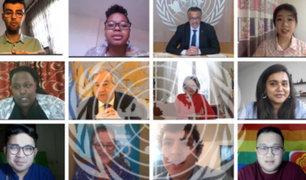 ONU debate sobre salud mental de jóvenes durante pandemia