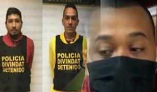 Trujillo: así cayó la banda que robó 25 mil soles a una mujer con un mensaje de texto