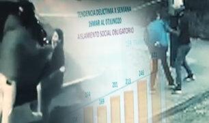 Cuarentena no detuvo crimines y delitos en Lima