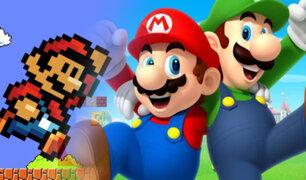 Nintendo celebra los 35 años de Super Mario Bros