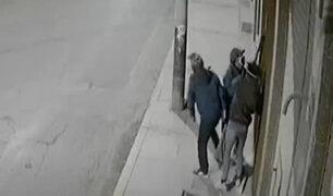 Juliaca: delincuentes se tardaron tres horas para robar en tienda de telas