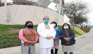 Parque Bicentenario de San Isidro será impregnado del arte de la comunidad shipibo-konibo