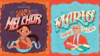 Lanzan colección de libros infantiles inspirados en la vida de Inés Melchor y Mario Vargas Llosa
