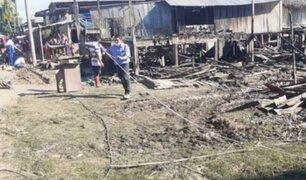Incendio cobró la vida de un niño de cuatro años en Loreto