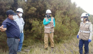 Piura: supervisan derrame de petróleo que habría afectado un área agrícola