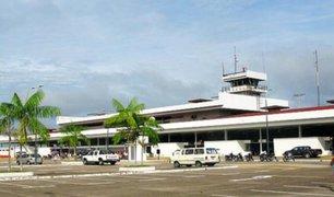 Iquitos: protestan fuera de aeropuerto tras reinicio de vuelos por temor a incrementos de contagios