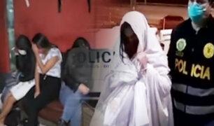 San Juan de Miraflores: intervienen prostíbulo al interior de un hostal