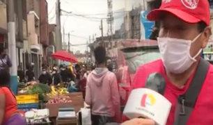 Callao: comerciantes formales ahora trabajan como ambulantes