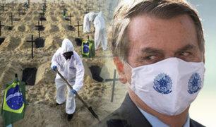 """Bolsonaro afirma que """"la cuarentena y los efectos económicos matan más que el coronavirus"""""""