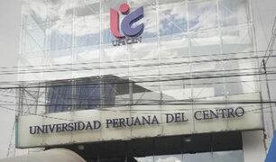 Junín: Universidad Peruana del Centro no logró obtener licenciamiento