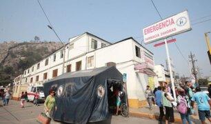 Hospital de Vitarte: familiares de pacientes COVID-19 denuncian falta de camas en UCI