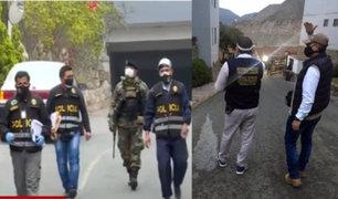 Fiscalía allanó 35 viviendas de alto mandos policiales por presuntas compras irregulares