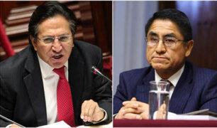 Ministerio de Justicia fortalecerá cooperación para extradición de Toledo e Hinostroza