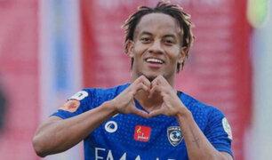Futbolista André Carrillo superó el Covid-19 y volvió a los entrenamientos del  Al Hilal