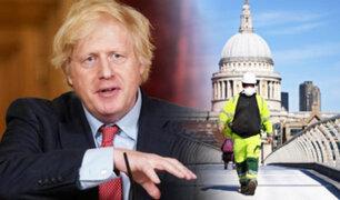 Reino Unido registra nuevo récord de 1325 fallecidos por COVID-19 en un solo día