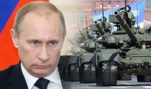 Vladimir Putin ordena maniobras militares en territorio ruso