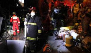 Breña: explosión de balón de gas deja dos muertos y cuatro heridos
