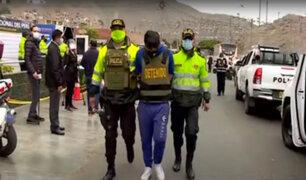 Los Olivos: detienen a extranjero con arma retrocarga