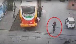 SMP: sujeto robaba celulares a bordo de una bicicleta