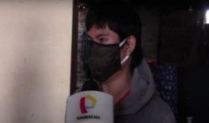 Cadena de solidaridad: ayudan a joven que perdió empleo por pandemia