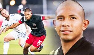 Edison Flores jugó en nuevo empate del DC United