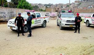 Trujillo: un policía herido de bala deja intervención a revoltosos