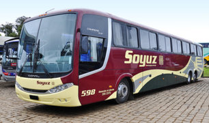 Empresa de transportes interprovincial Soyuz anunció cese de sus actividades