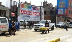 Trujillo: mercado La Hermelinda reabrió sus puertas al público