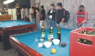 Chimbote: intervienen a cerca de 20 personas que desacataron aislamiento