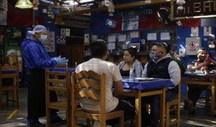 Diversos restaurantes de Lima reabrieron bajo estrictos protocolos sanitarios