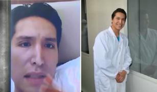 Jorge Cuyubamba ofreció disculpas y aseguró que nunca declaró a la prensa ser científico