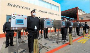 CONFIEP y la Marina de Guerra entregan ventiladores mecánicos al Ministerio de Salud