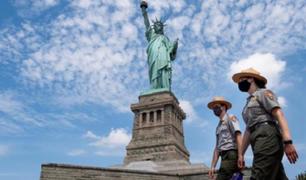 Estados Unidos: la isla de la Estatua de la Libertad abre sus puertas al público