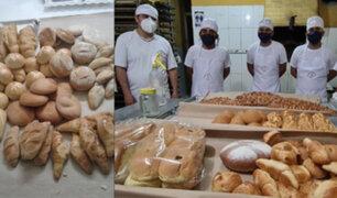 """Chiclayo: Panaderos de Monsefú crean """"Pan anti Covid-19"""" a base de kion, ajos, cebolla y limón"""