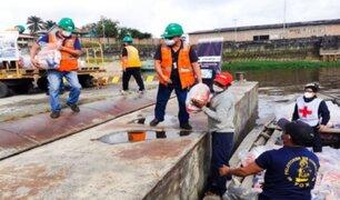 Loreto: Cruz Roja y Enapu darán más 1000 kits de alimentos a familias vulnerables