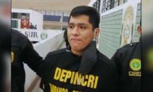 Chorrillos: dictan 6 meses de prisión preventiva a cantante por ataque a un policía