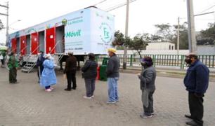 La Molina: más de 2000 personas recibieron atención médica de hospital móvil itinerante