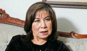 Martha Chávez es denunciada por discriminación por declaraciones sobre Zeballos