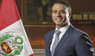 Pedro Cateriano manifestó su confianza al nuevo ministro de Trabajo