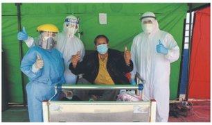 Chimbote: adulto mayor de más de 80 años le ganó la batalla al nuevo coronavirus