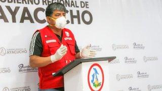 Gobernador de Ayacucho es trasladado a Lima para ser tratado del COVID-19