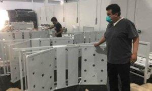 Ica: 80 camas clínicas con puntos de oxígeno fueron instaladas en hospital de campaña COVID-19