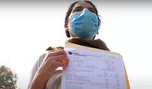 Mujer denuncia que su padre murió y ahora tiene una deuda de más de 145 mil soles con clínica privada
