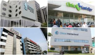 26 clínicas firmaron contrato con el SIS para atención de pacientes con coronavirus