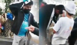 San Juan de Miraflores: ambulante es agredido por sereno durante operativo
