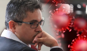 Fiscal José Domingo Pérez suspende labores en su despacho tras positivo de trabajadora a la COVID-19
