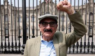 Congresista Enrique Fernández Chacón retoma actividades tras superar la Covid-19