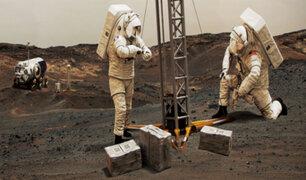 NASA planea enviar humanos a Marte desde el 2030