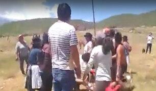 Huanta: comuneros protagonizaron un violento enfrentamiento por terrenos